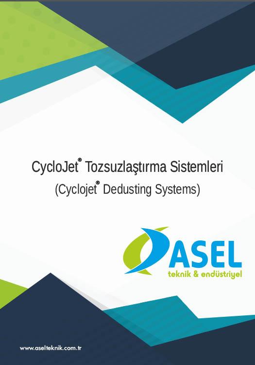Cyclojet Tozssuzlaştırma  Sistemleri Ürün Katalogu